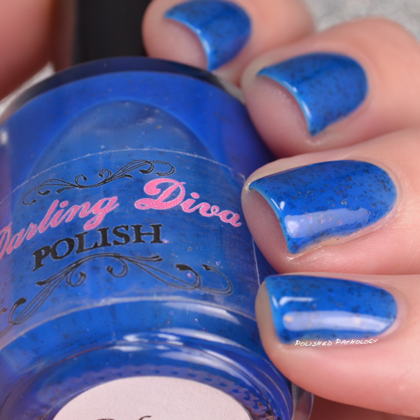 Darling Diva Polish Neopardy Collection Below Me side