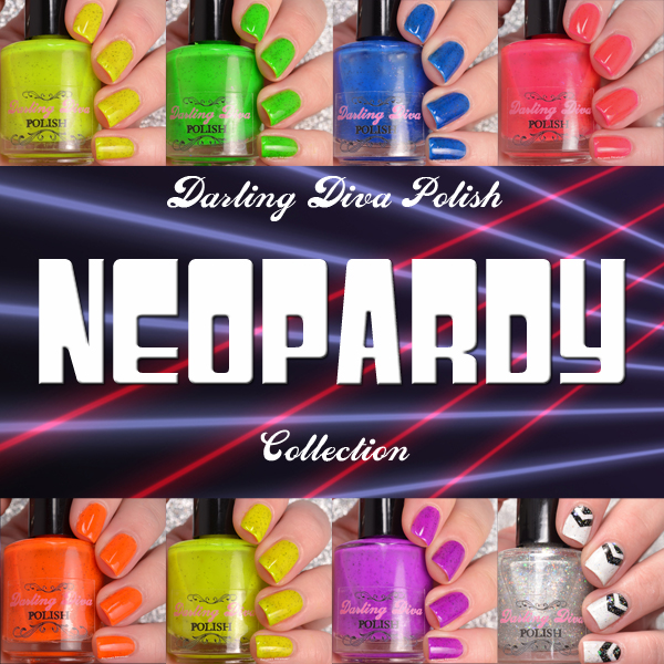 Darling Diva Polish Neopardy Collection Mosaic