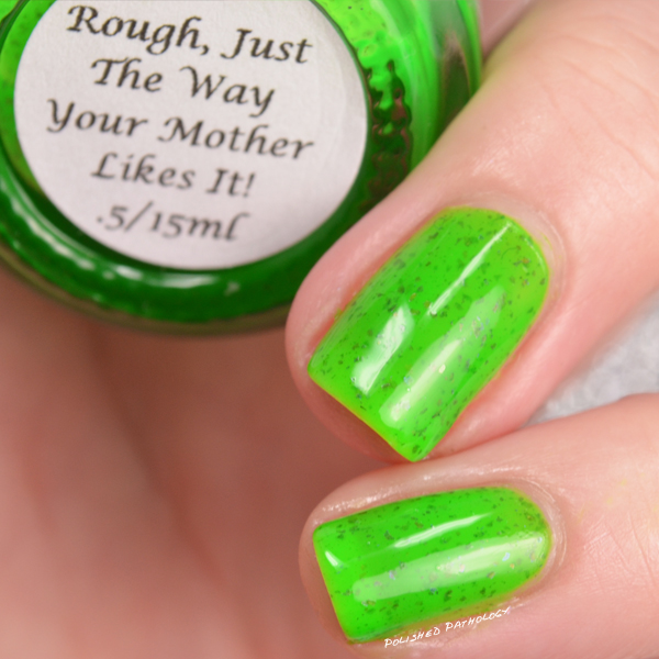 Darling Diva Polish Neopardy Collection Rough Just the way your Mother Likes It name
