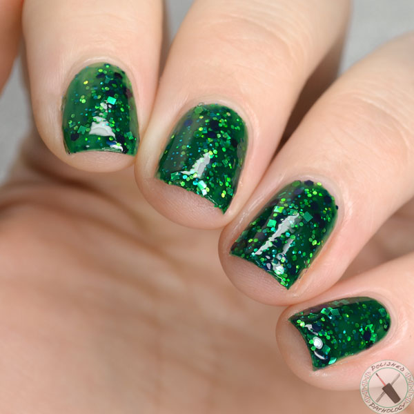 Leesha's Lacquer Jellies from Outer Space Aurora Borealis