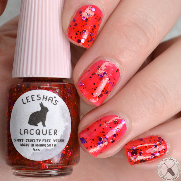 Leesha's Lacquer Jellies from Outer Space Solar Flare