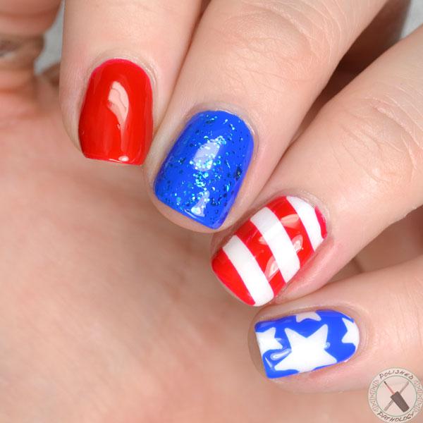 Memorial Day Nails
