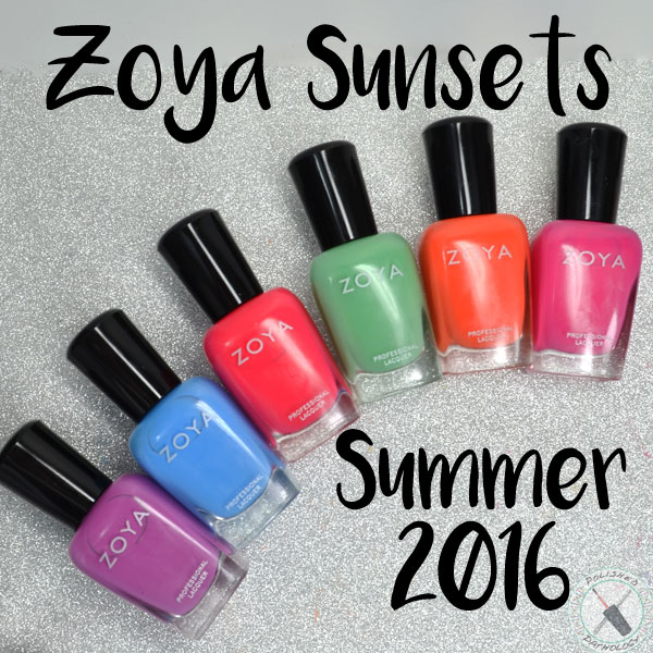 Zoya Sunsets Collection