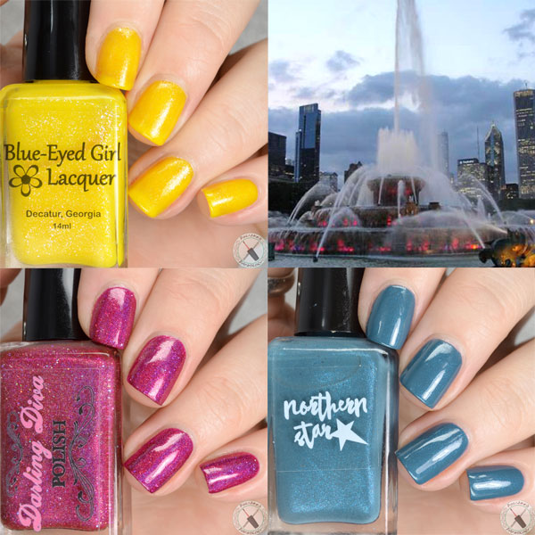 Blue Eyed Girl Lacquer Destination Trio