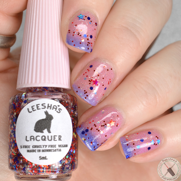Leeshas Lacquer Fire Work It