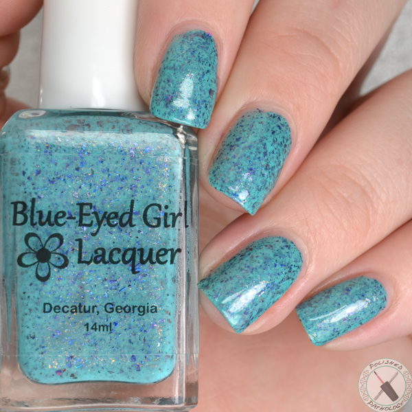 Blue Eyed Girl Lacquer Fan Favorites 2016 Blue Eyed Girl Lacquer Merman, Pops, MerMAN
