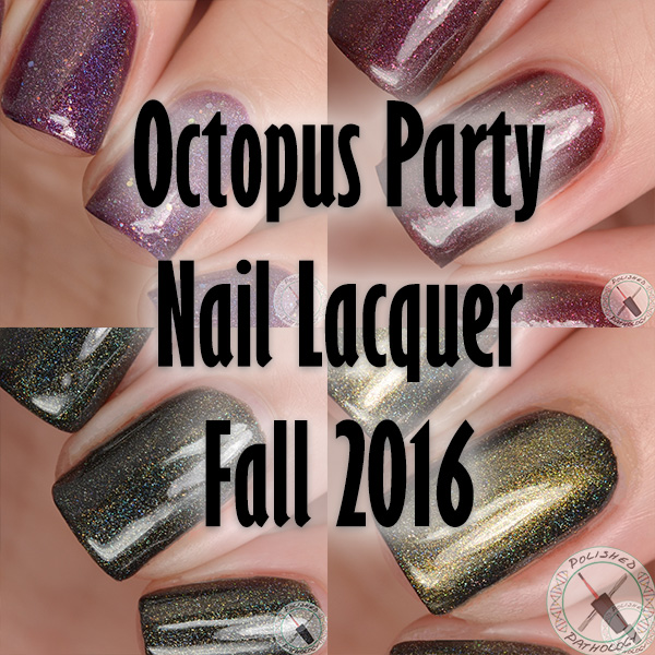 Octopus Party Nail Lacquer Fall 2016