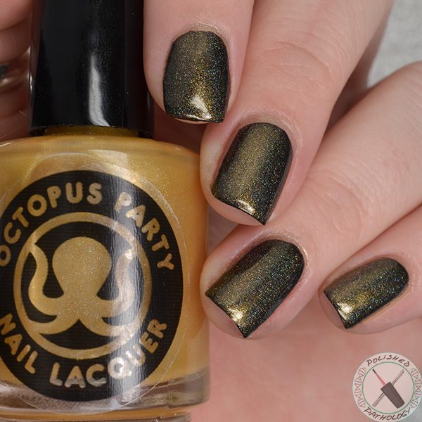 Octopus Party Nail Lacquer The Midas Crutch