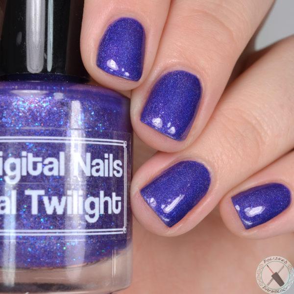 Indies Outside The Box Digital Nails Tidal Twilight