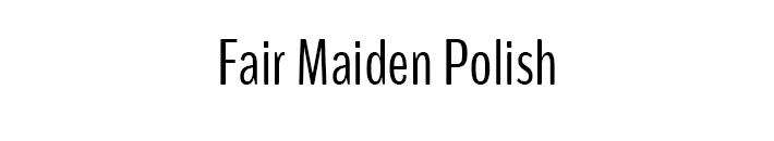 fair-maiden