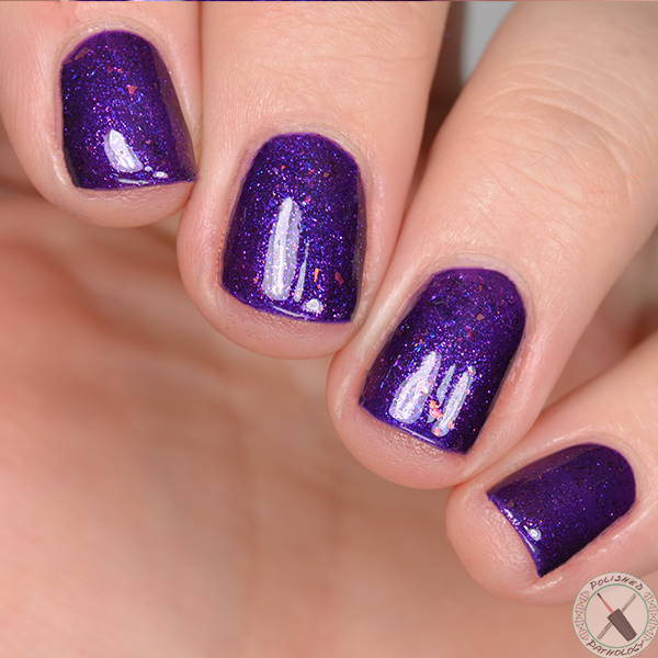 Polish Con Event Exclusive Great Lakes Lacquer Fallen For Flake