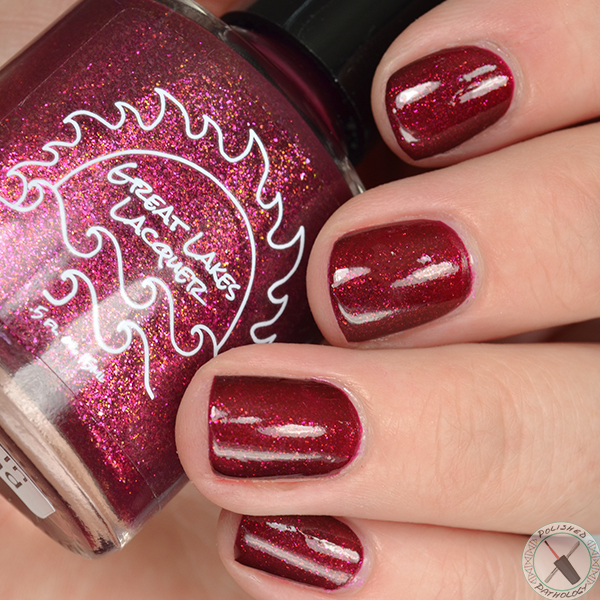 Polish Con Event Exclusive Great Lakes Lacquer Leaves in the Sand