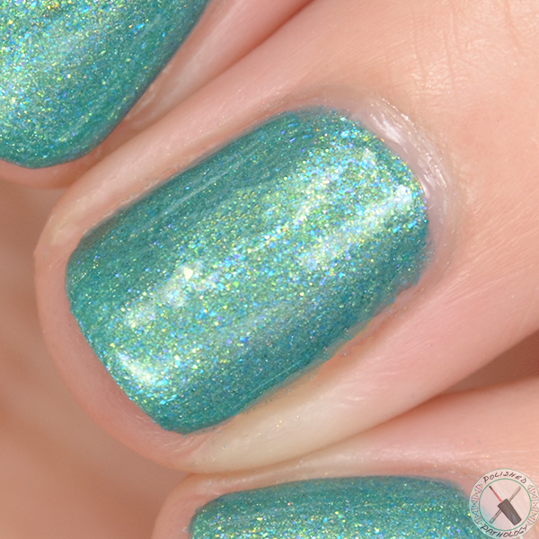 Joy Lacquer Kinder Queen Show and Teal Day