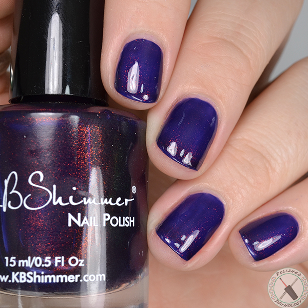 Polish Con Event Exclusive KBShimmer Let's Slang