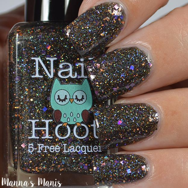 Polish Con Event Exclusive Nail Hoot Hocus Pocus