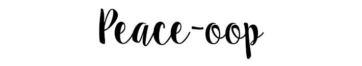 peaceoop