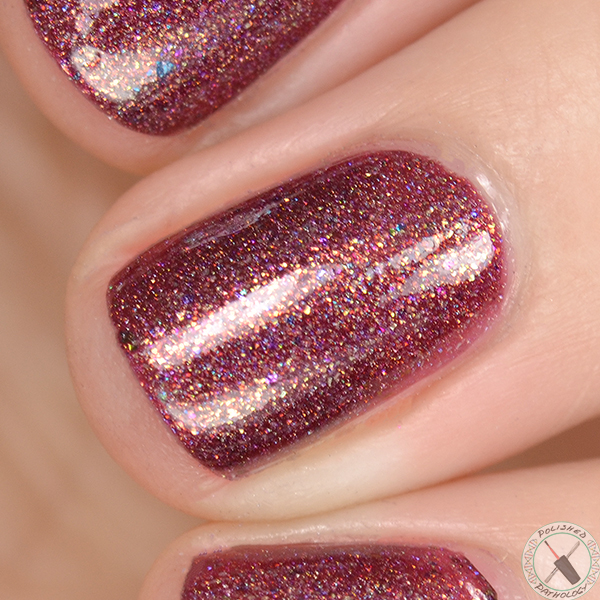 Polish Con Event Exclusive Top Shelf Lacquer JHot Toddy