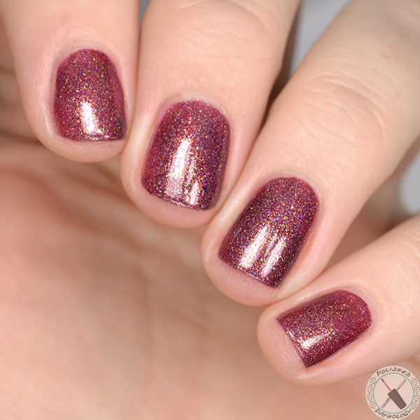 Polish Con Event Exclusive Top Shelf Lacquer Hot Toddy