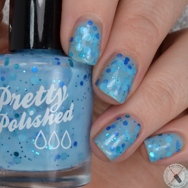 Pretty & Polished Winter 2016 Blue Balls