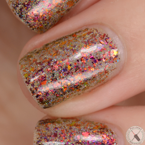 Top Shelf Lacquer Holiday Flake Out Candy Cane Martini