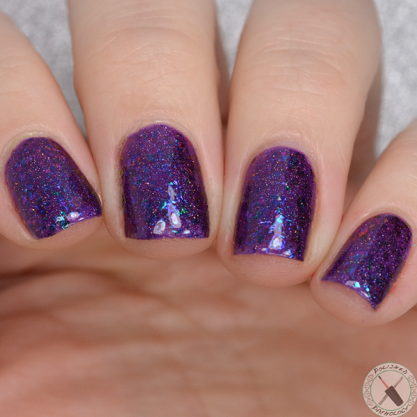 Top Shelf Lacquer Holiday Flake Out Mulled Wine