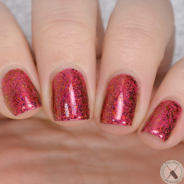 Top Shelf Lacquer Holiday Flake Out Santa-Tini
