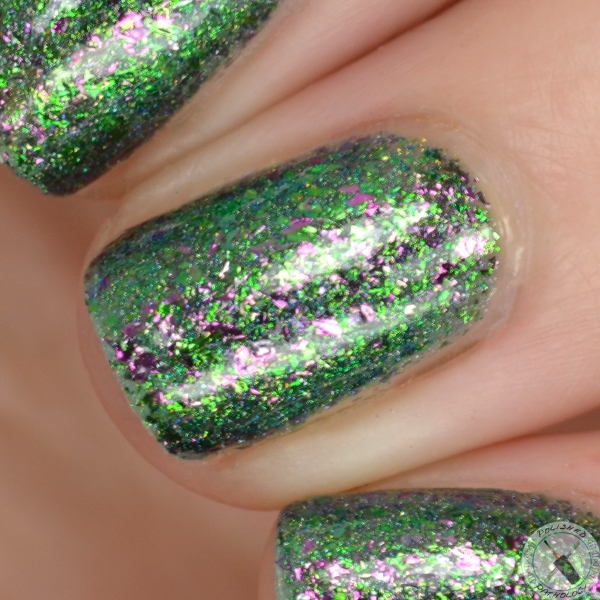 Top Shelf Lacquer Holiday Flake Out The Grinch