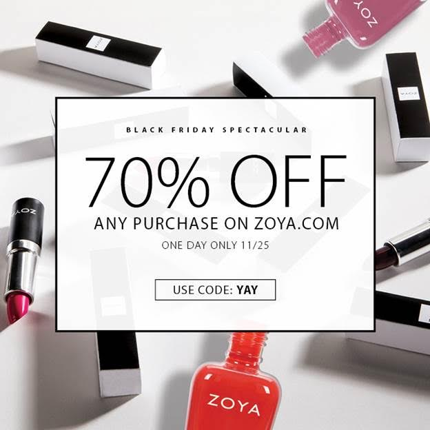 Zoya Black Friday 2016