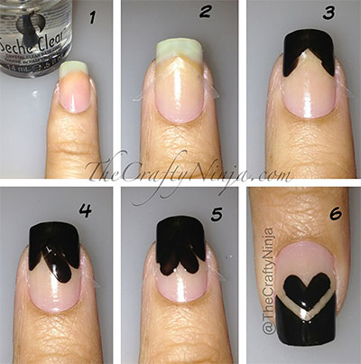 Nail Art Tutorials Step By Step For Beginners Learners 2013 2014 7