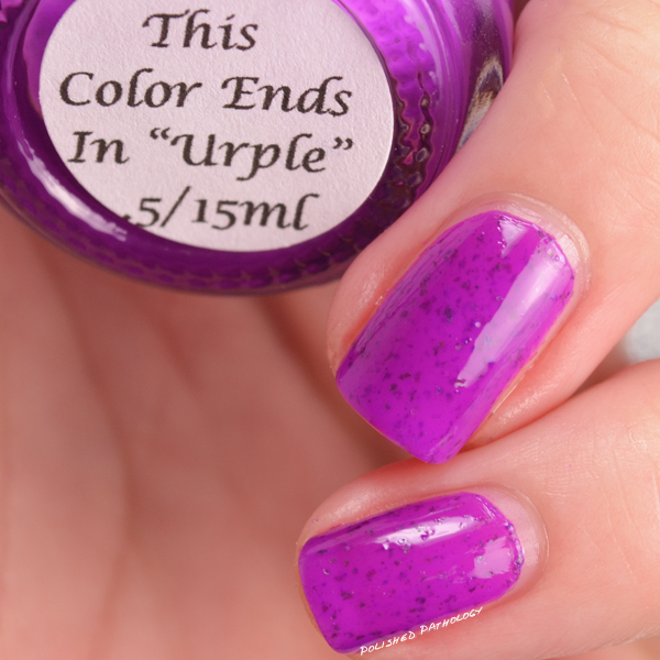 Darling Diva Polish Neopardy Collection This Color Ends in Urple name