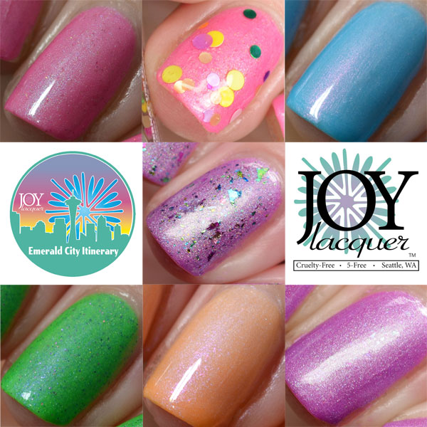 Joy Lacquer Emerald City Collection