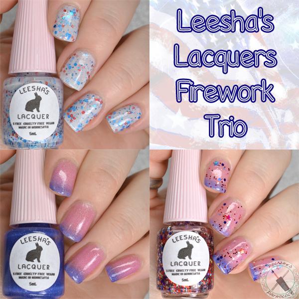 Leesha's Lacquer Firework Trio