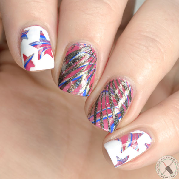 fourth-of-july-nail-art-full - Polished Pathology