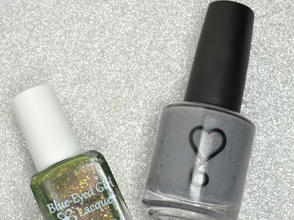 July 2016 Destination Duo - Blue Eyed Girl Lacquer and 6 Harts