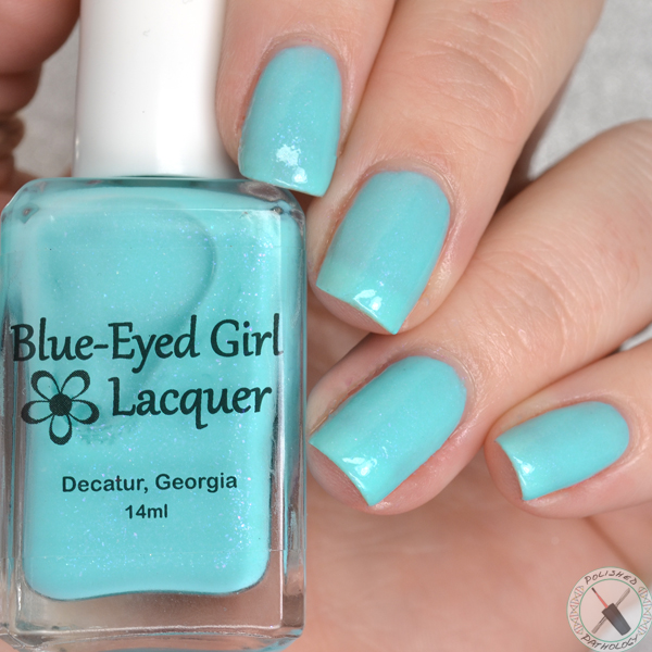 Blue Eyed Girl Lacquer Fan Favorites 2016 Blue Eyed Girl Lacquer Three Years and S-teal going strong