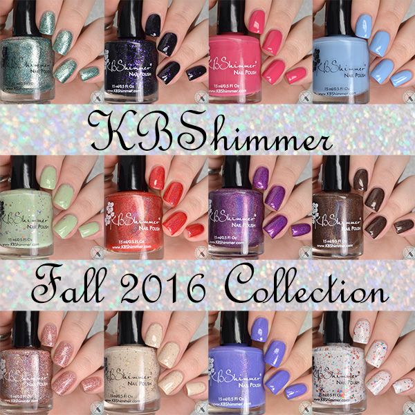 KBShimmer Fall 2016 Collection