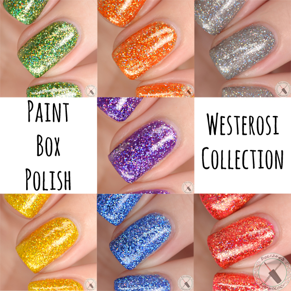 Paint Box Polish Westerosi Collection