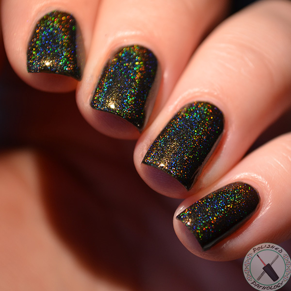 Octopus Party Nail Lacquer Swamped