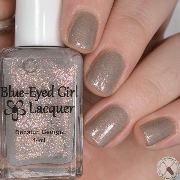 Blue Eyed Girl Lacquer Destination Duo with Paint Box Polish North from 9 3/4