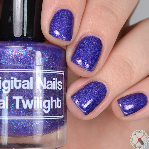 Indies Outside the Box Digital Nails Tidal Twilight