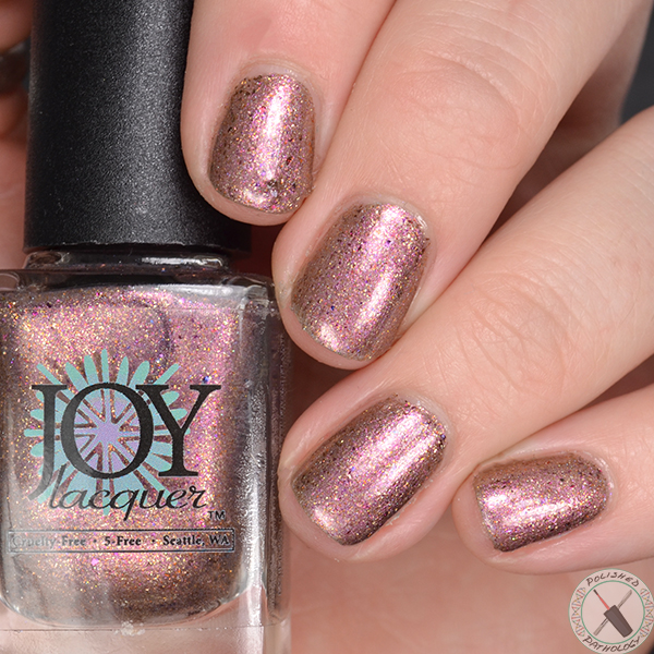 Joy Lacquer Kinder Queen PB&J Yay!