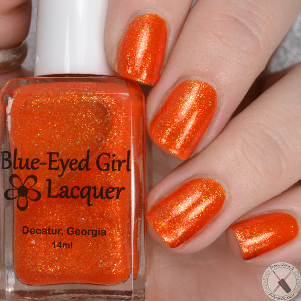 Blue Eyed Girl Lacquer Room With A View Autumn Winds Blow