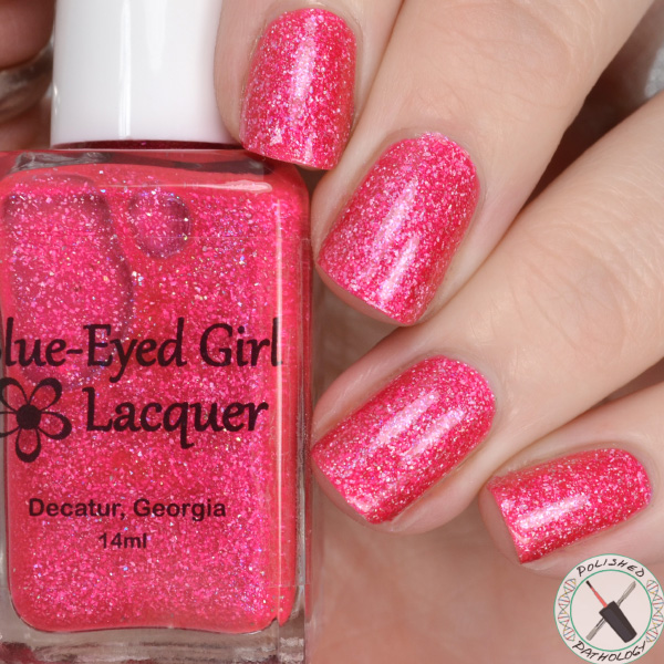 Blue Eyed Girl Lacquer Room With A View Clear My View