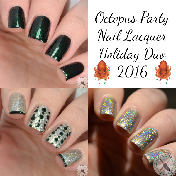 Octopus Party Nail Lacquer Holiday Duo