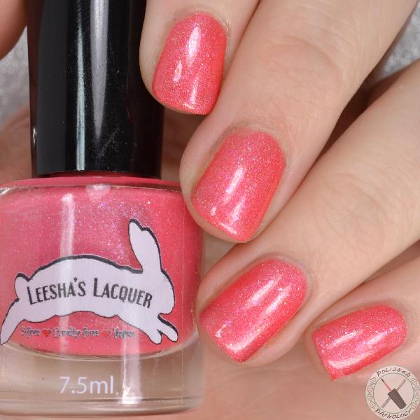 Leesha's Lacquers Sandia Sabrosa