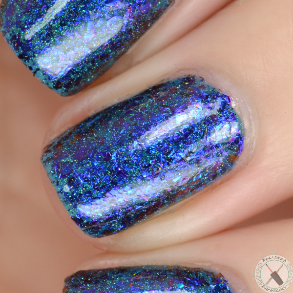 Top Shelf Lacquer Holiday Flake Out Blue Bell Cocktail
