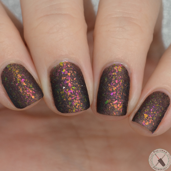 Top Shelf Lacquer Holiday Flake Out Chocolate Raspberry Martini