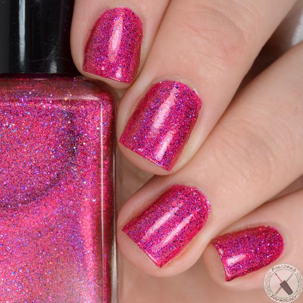 Darling Diva Polish Hella Holo Customs Electric Barbie-Rella