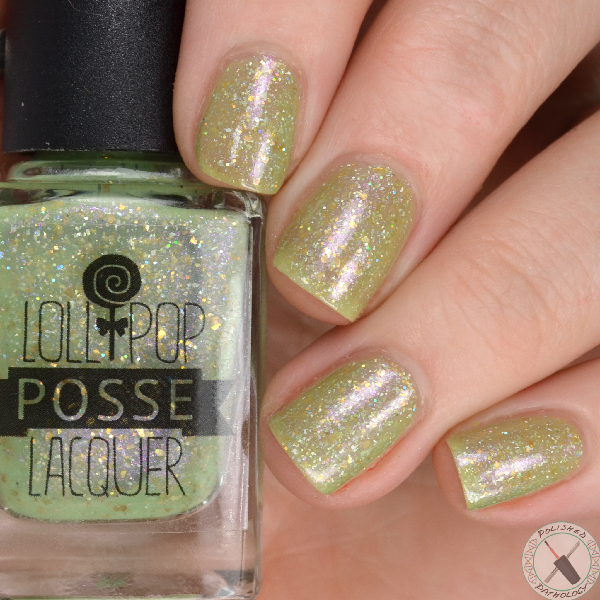 Indies Outside The Box Fantastic Customs Lollipop Posse Lacquer Every Leaf Speaks Bliss To Me