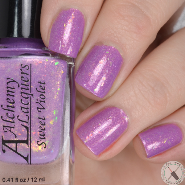 Alchemy Lacquers Valentines Day Collection Sweet Violet